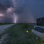 25. Juuli 2021 - 18:40 - I've visited this spot many times and am soon moving to within three miles of it.  This time was while chasing a lightning storm.  RIP Tim Samaras, Paul Samaras, and Carl Young.