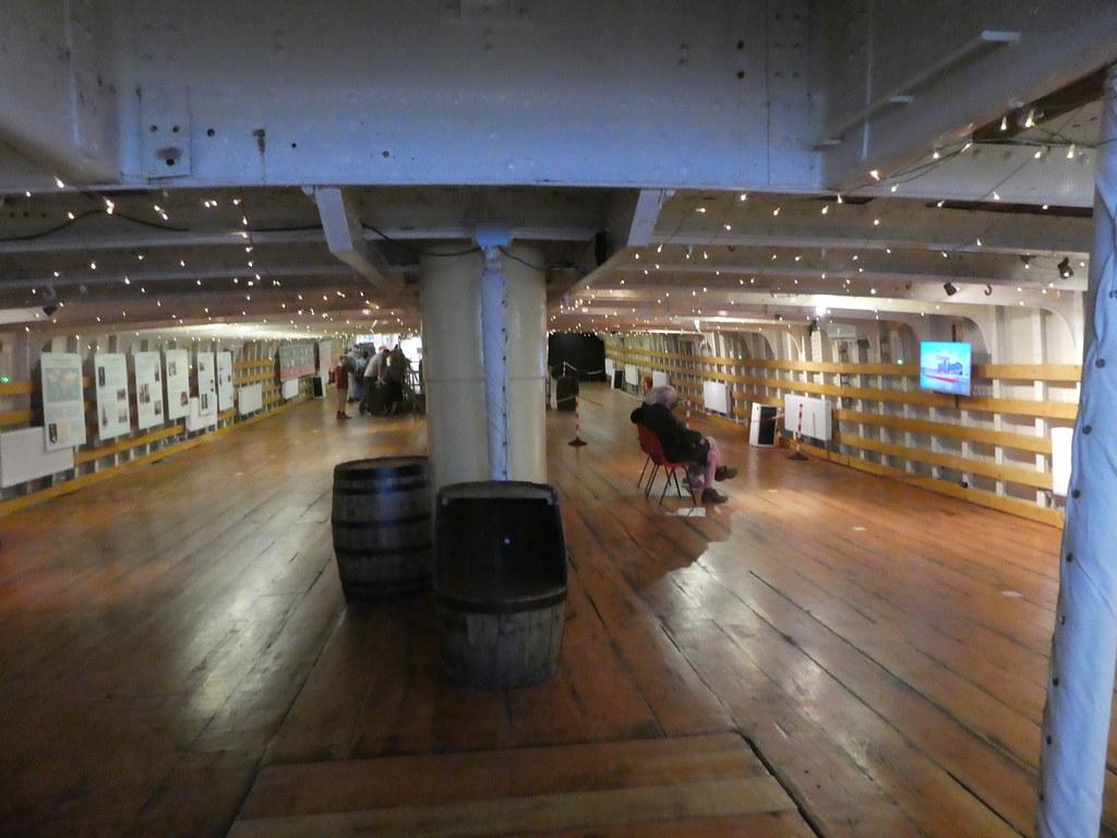 The Glenlee Tall Ship deck, Glasgow