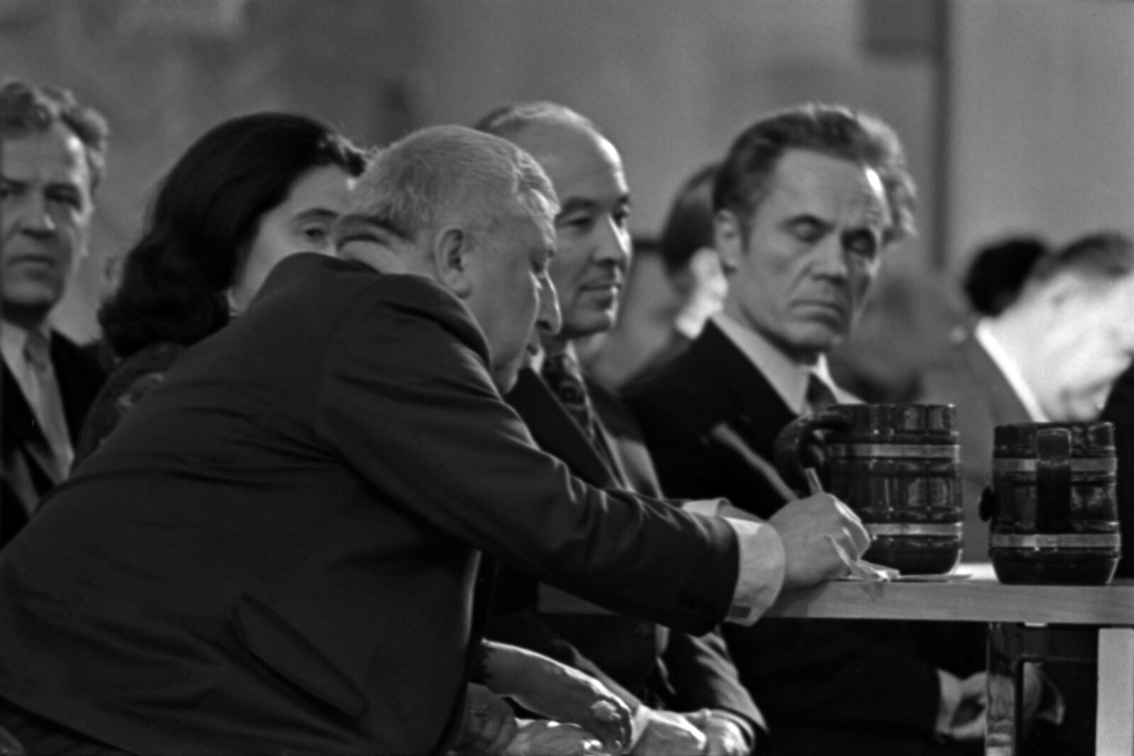 1975. Вечер Расула Гамзатова в Колонном зале Дома Союзов, Расул Гамзатов