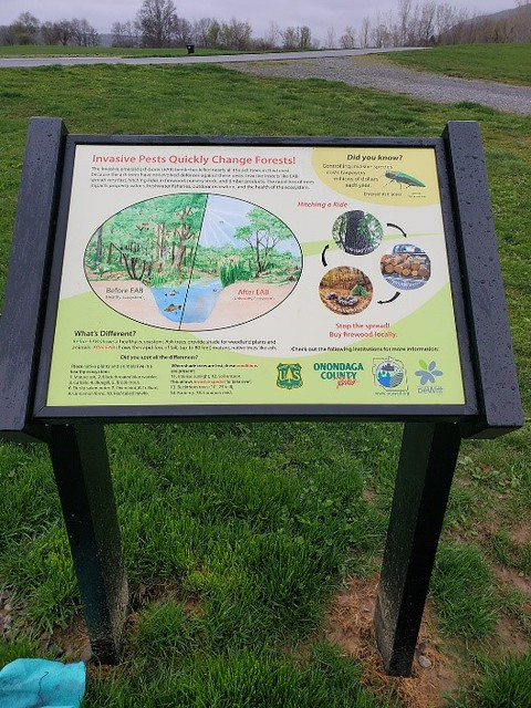 outdoor display Onondaga County Soil & Water Conservation District