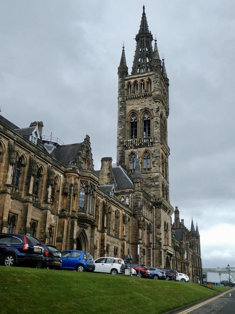 University of Glasgow Gilbert Scott Building