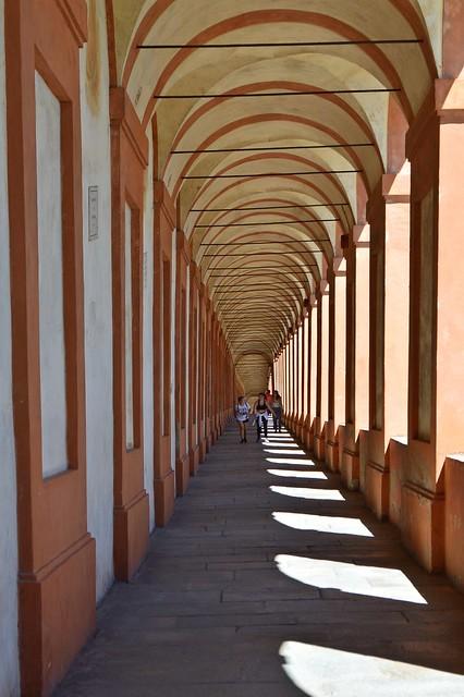 Bologna, portico di San Luca