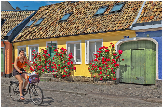 Sweden - Old Lund - Adelgatan