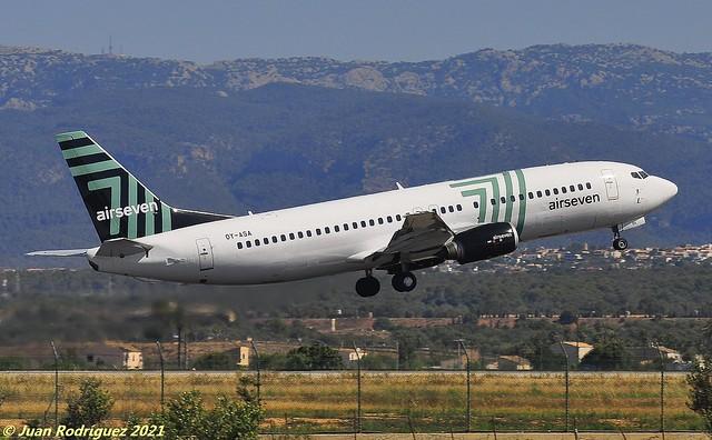 OY-ASA - Airseven - Boeing 737-405 - PMI/LEPA