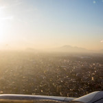 Landing in Mexico City - Mexico 2020