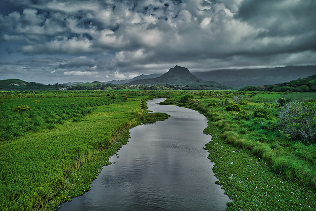 Mt Olomana Kawainui Marsh Kailua