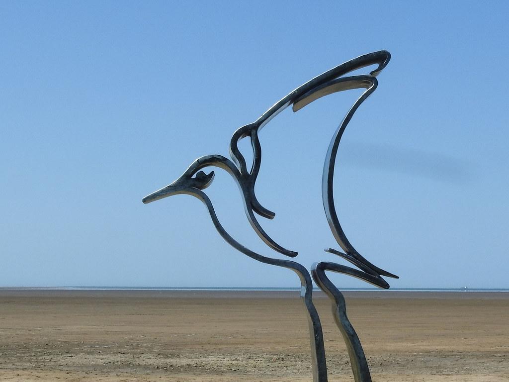 'Dunlin- Wader Sculpture - One of Seven'