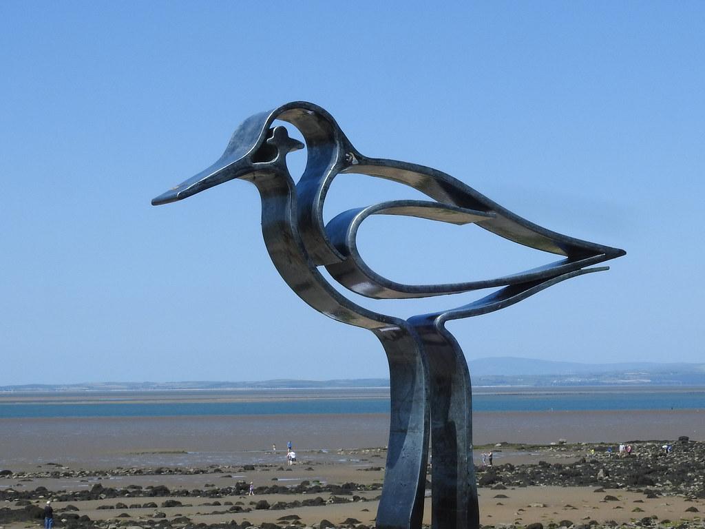 'Redshank- Wader Sculpture - One of Seven'