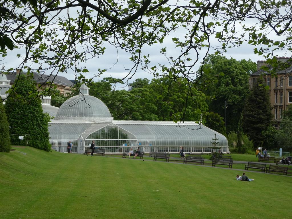Victorian Glasshouse in the Glasgow Botanic Gardens