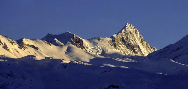 Le Alpi Svizzere in inverno (gennaio 1991)