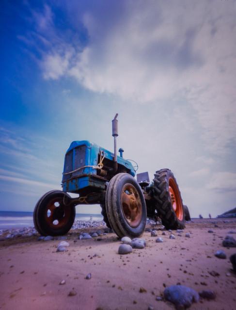 Beach tractor, Cromer