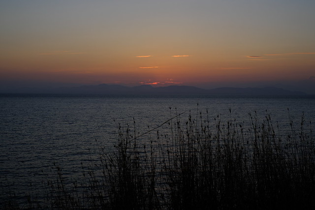 Çanakkale Eceabat gün batımı