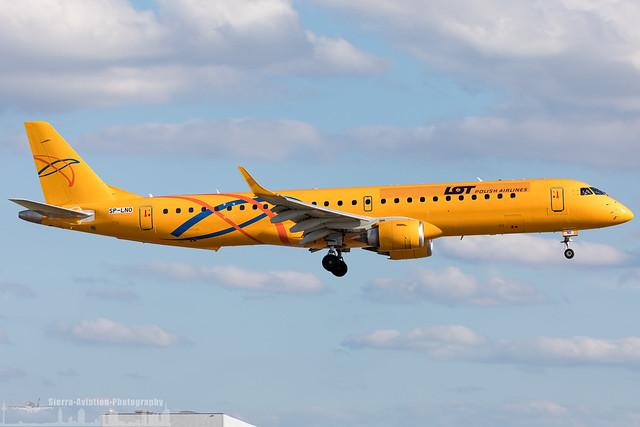 SP-LNO LOT - Polish Airlines Embraer ERJ-195LR (FRA - EDDF - Frankfurt)