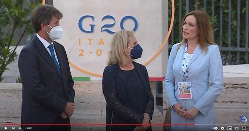 """ROMA ARCHEOLOGICA & RESTAURO ARCHITETTURA 2021. Guarda La Diretta - """"La cultura unisce il mondo"""" A Roma il G20 Cultura, la cerimonia di apertura al Colosseo. ROMA RaiNews & MiC_Italia / You-Tube (29/07/2021)."""