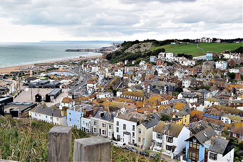 hastings oldtown history sussex england easthill panorama southcoast architecture houses ©peterdenton nikond5300