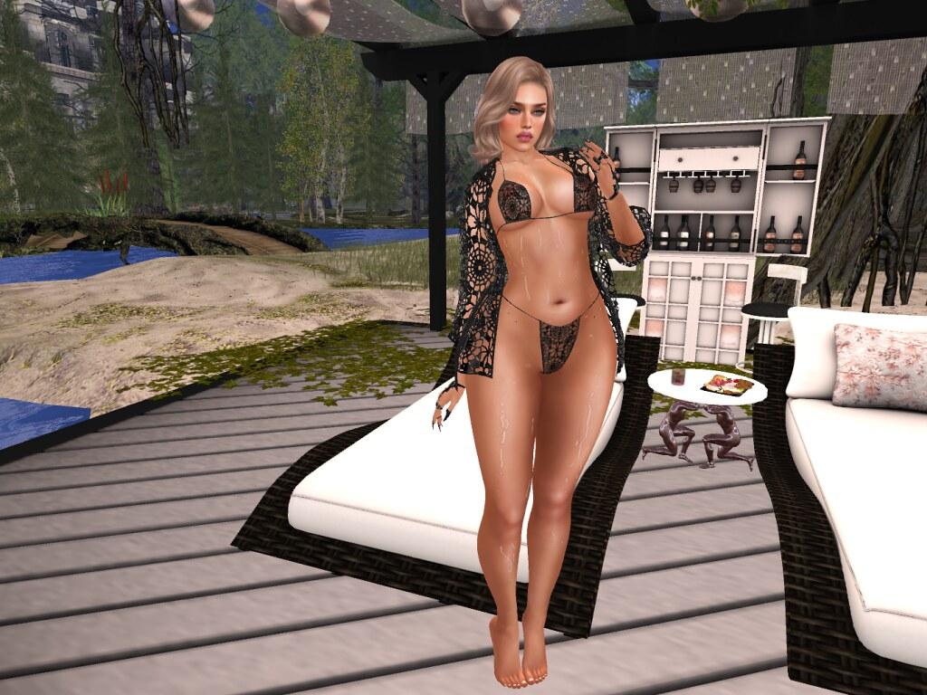.AMUI. Adriana Swinwear Outfit - Black