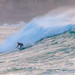 Surfs up - surfing seascape with a large swell