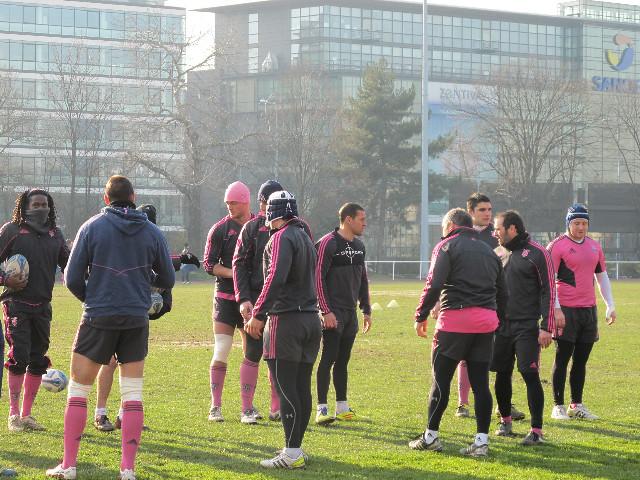 Entraînement Cité U - 10 janvier 2012
