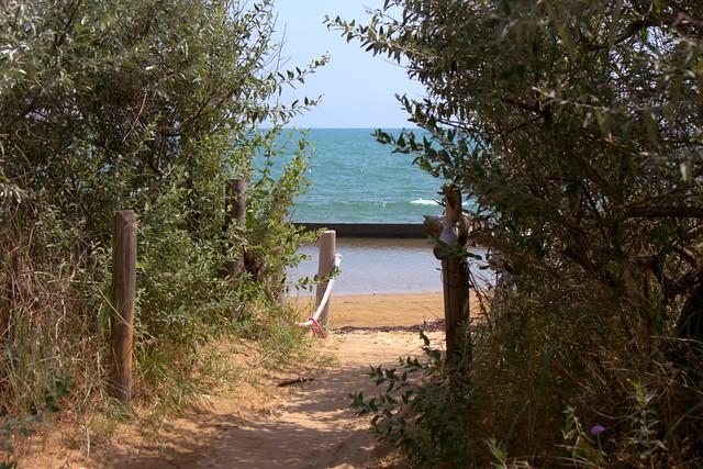 Dalle dune alla spiaggia del Mort