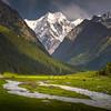Kyrgyzstan Valley