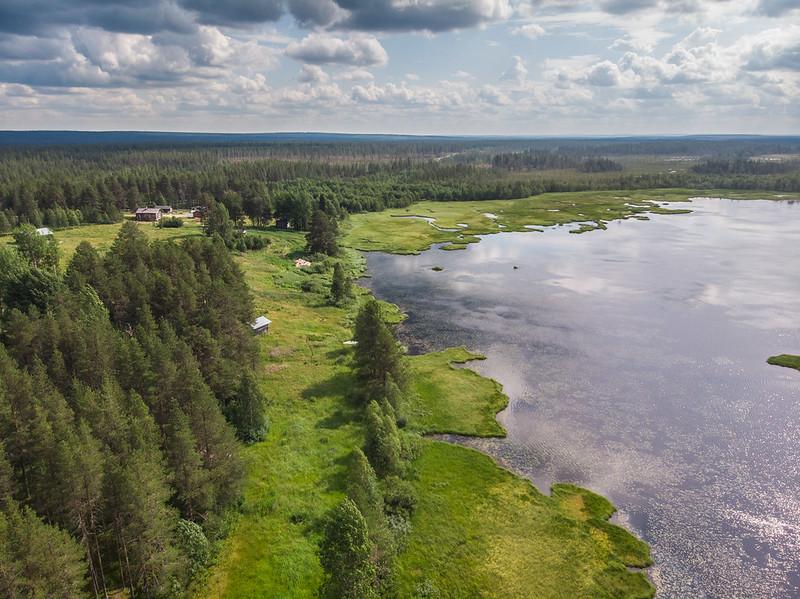 Jauhojärvi drone view