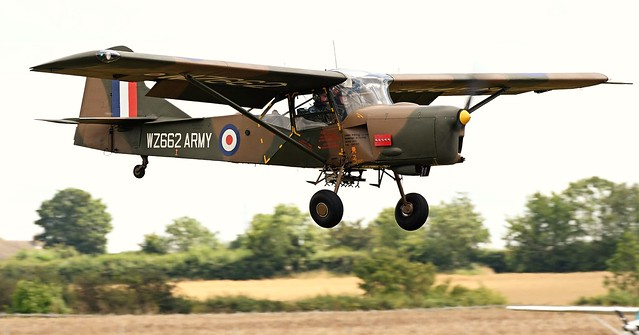 Auster AOP.9 G-BKVK Army Air Corps WZ662