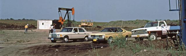 Alberta, Oil lease, site,  Aug 13, 1981
