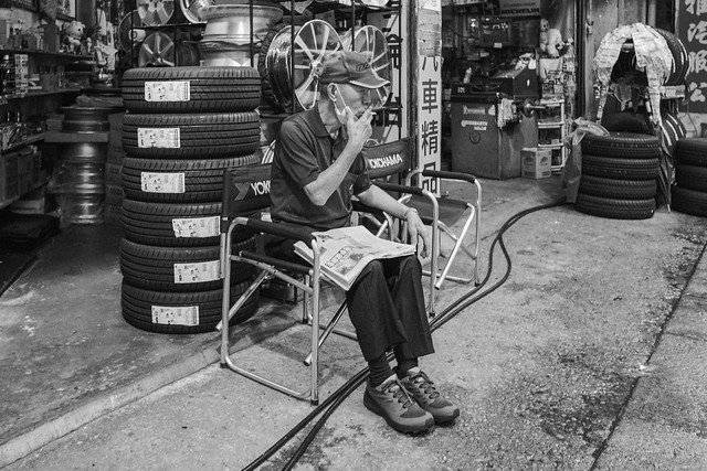 Tyred out