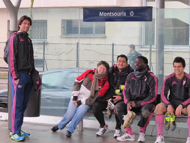 Entraînement Cité U - 12 février 2012