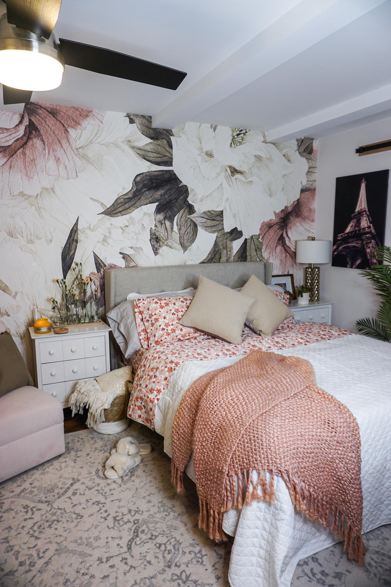 Floral Mural Wallpaper