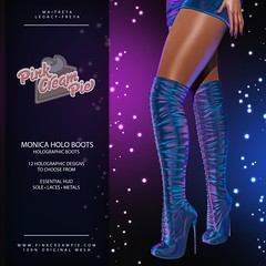 Monica Holo Boots @ Fly Buy Fridays 7/30