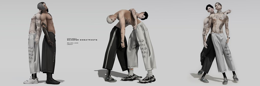 [Dope+Mercy]SCAMPER Sweatpants @ Planet29
