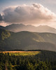 Sunset in the Western Tatras