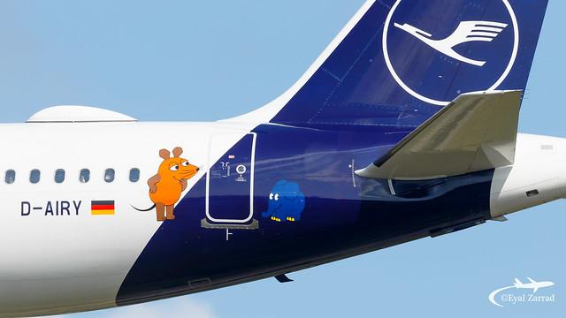 HAM - Lufthansa Airbus A321 D-AIRY