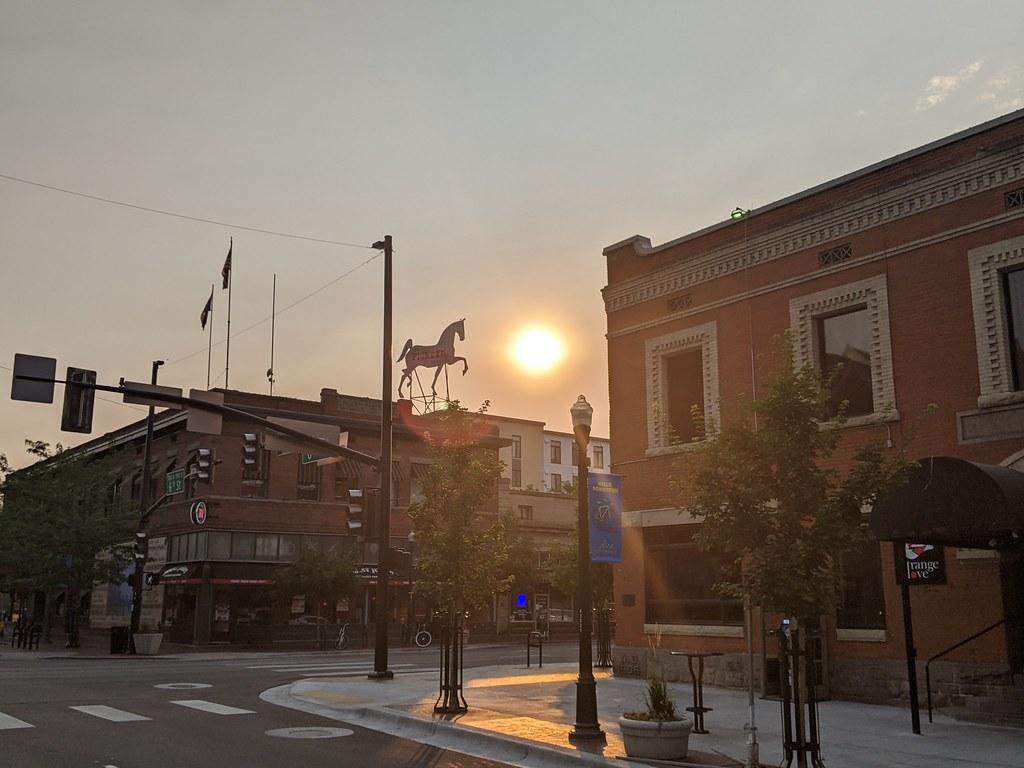 Boise at sunrise