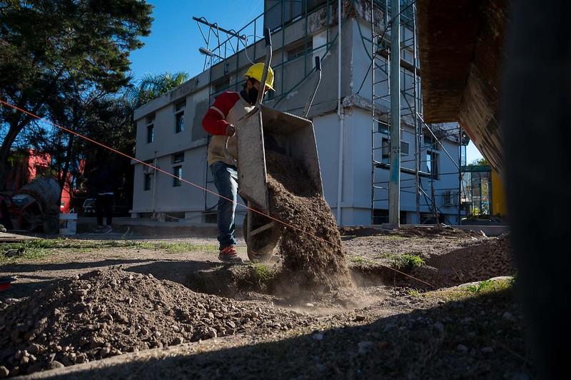 Continúa la recuperación edilicia en el CPC Empalme