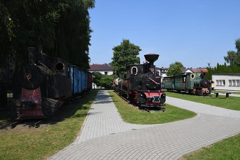 CBK 8 mit Güterzug