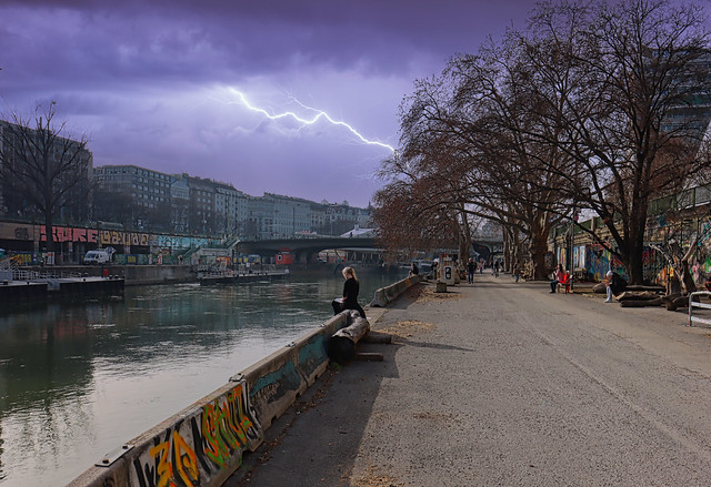 1 (48)a...street...austria ...vienna ..am kanal...bad weather