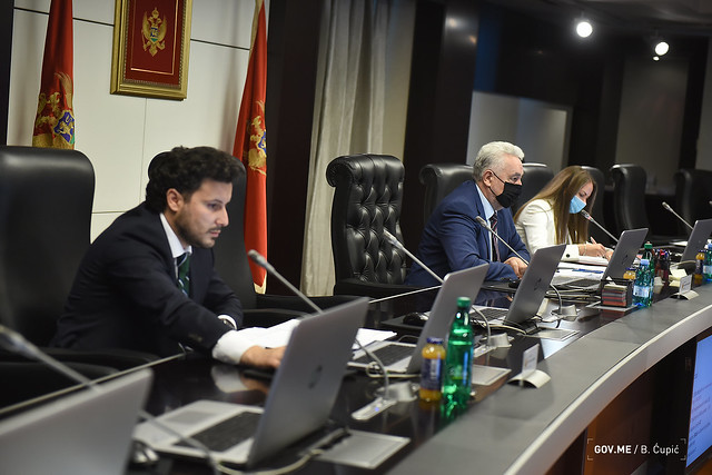 34. sjednica Vlade Crne Gore (30.07.2021.)