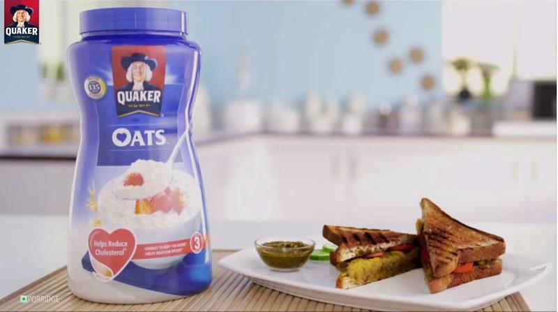 Healthy Breakfast Sandwich Recipe   Quaker Oats