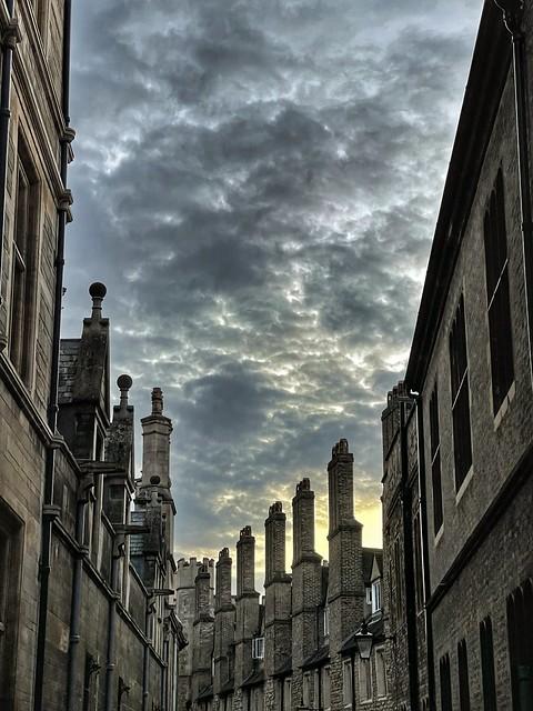 Cambridge at night