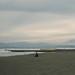 鵠沼海岸 #Kugenuma Beach, windy afternoon with a clear view of Mt. Fuji