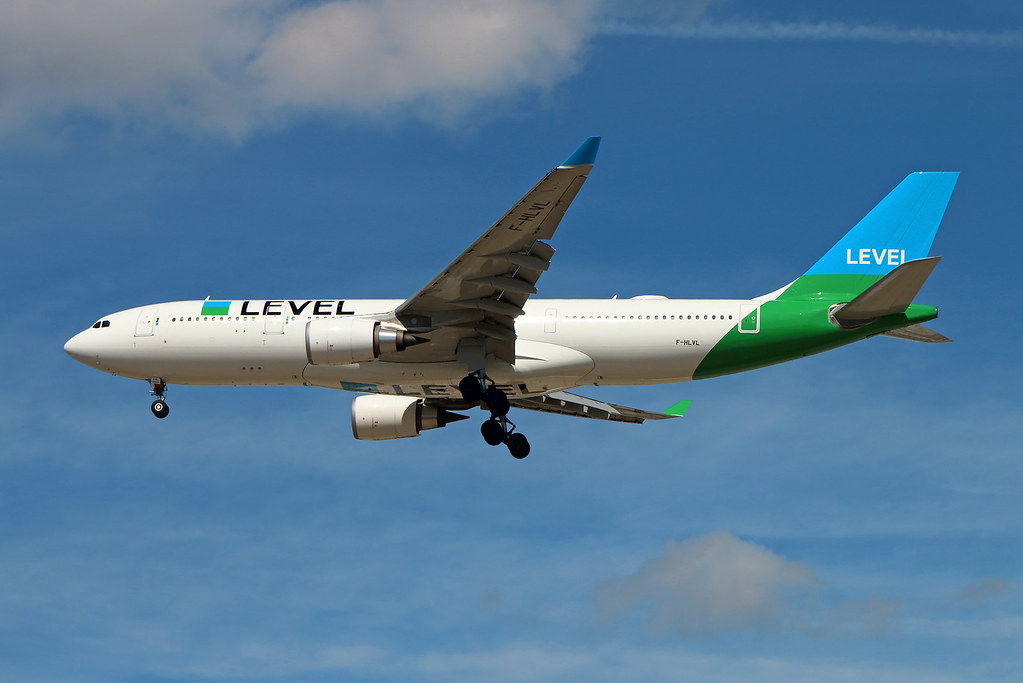 F-HLVL | Airbus A330-202 | Level France | Paris Orly (ORY/LFPO)