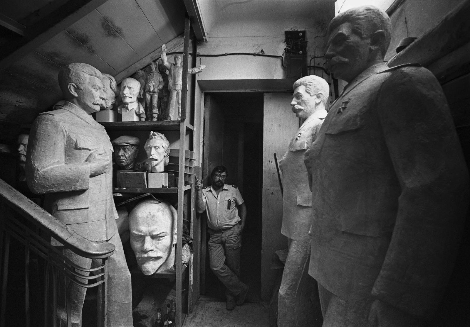 1978. Скульптор Константин Константинов