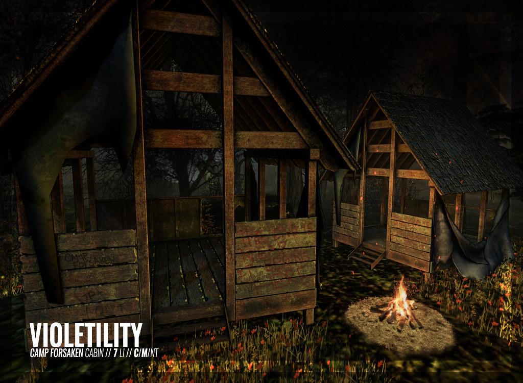 Violetility – Camp Forsaken Cabin