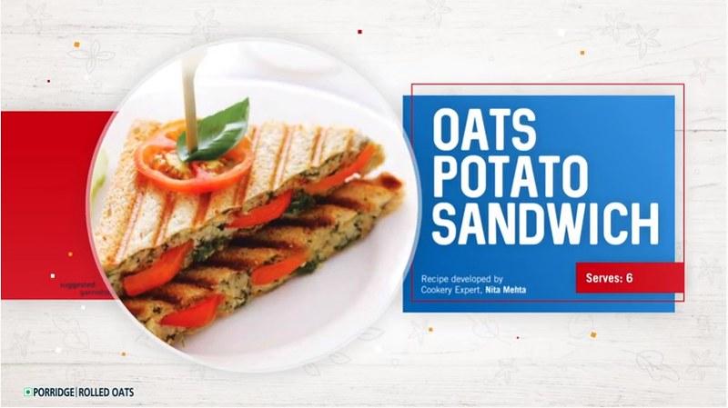 Try Healthy Breakfast Sandwich   Quaker Oats