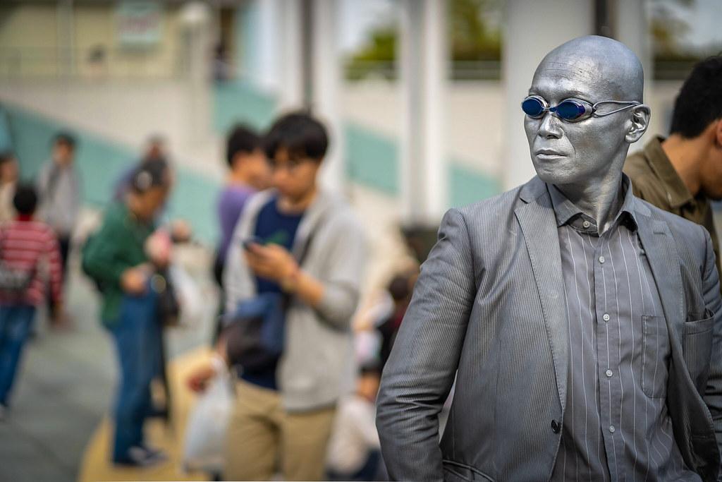 Silver Man…
