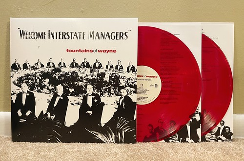 Fountains of Wayne - Welcome Interstate Managers 2xLP - Red Vinyl