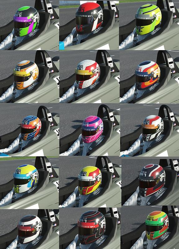 rFactor 2 - New Helmets