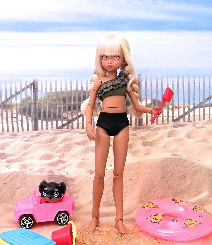 Bibi at the Beach